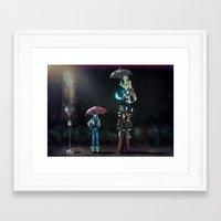 dramatical murder Framed Art Prints featuring Dramatical Murder - My Neighbors... by Lalasosu2