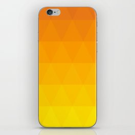 Pink and Yellow Ombre - Flipped iPhone Skin