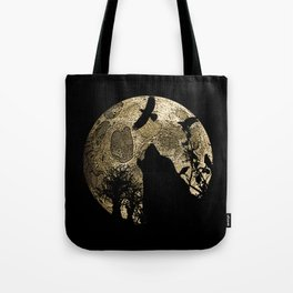 Lonewolf Lycan Dreaming 1 Tote Bag