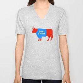 BullShirtCo Brand T-shirts now on Society6 Unisex V-Neck