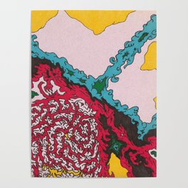 Creation - Abstract Drawing Poster