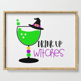 Drink Up Witches Serving Tray