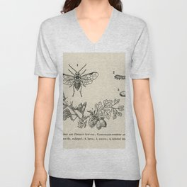 The fruit growers guide  Vintage  of caterpillar-infested clean branoh currant saw-fly gooseberry Unisex V-Neck