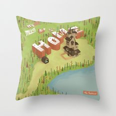 The Burrow Throw Pillow