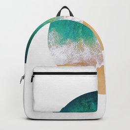 Geometric composition XIII Backpack