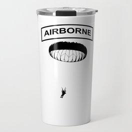 Airborne Jump Paratrooper Travel Mug