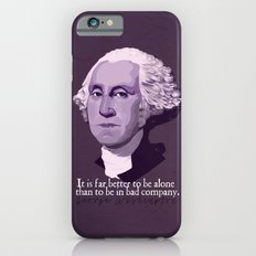 It Is Far Better To Be Alone iPhone 6s Slim Case