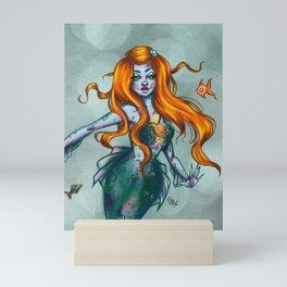 Sea lights - Mermay Mini Art Print