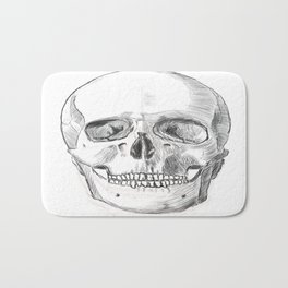 Skull Study Bath Mat