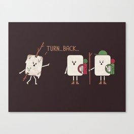 Turn Back Canvas Print