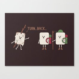 Turn Back Canvas Print