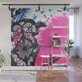 Pink Flower   fleur rose Wall Mural