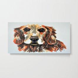 Adopt a dog Metal Print