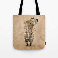 mouse Tote Bags featuring Mouse by Freeminds