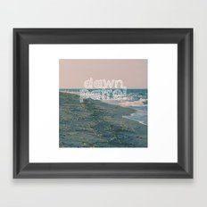 Dawn Patrol Framed Art Print