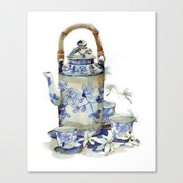 Jasmine tea Canvas Print