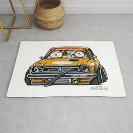 Crazy Car Art 0153 Rug