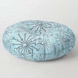 Turquise Jewel Stars Floor Pillow