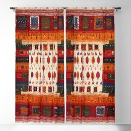 N38 - Epic Bohemian Traditional Andalusian Moroccan Artwork Blackout Curtain