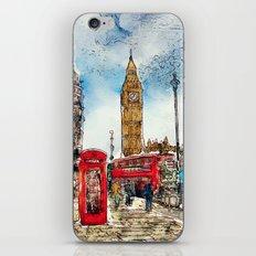 London Icons iPhone Skin