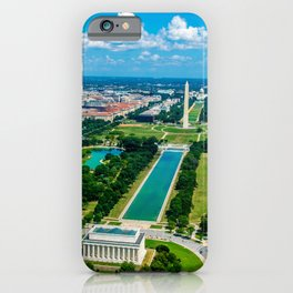 DC from Above iPhone Case