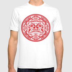 The sun Mens Fitted Tee SMALL White