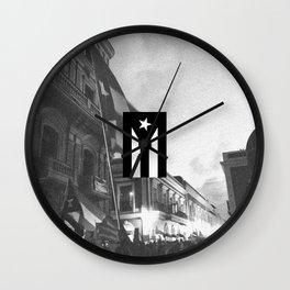 Verano del 19, Puerto Rico Wall Clock