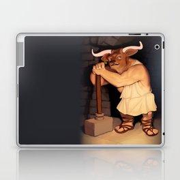 Monster of the Week: Manny the Minotaur of Crete Laptop & iPad Skin