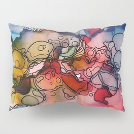 Cathartic Abstraction Pillow Sham