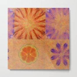 Triumvirs Unconcealed Flower  ID:16165-043712-23190 Metal Print