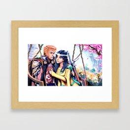 Courtly Love Framed Art Print