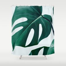 Monstera #society6 #artprints #buyart Shower Curtain