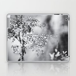 Grunge Film Noir Dried Plants Nature Image Laptop & iPad Skin