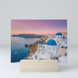 Santorini 08 Mini Art Print