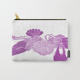 The Stork in pink Carry-All Pouch