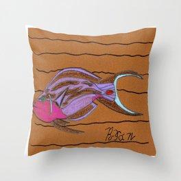 Sea Surgeon Throw Pillow