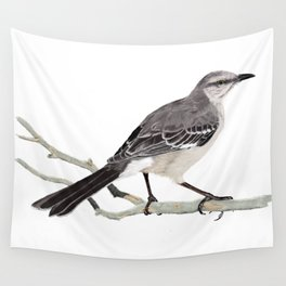 Northern mockingbird - Cenzontle - Mimus polyglottos Wall Tapestry