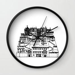 Potala Palace Wall Clock