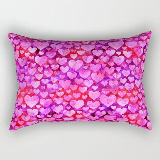 Heart Pattern 08 Rectangular Pillow