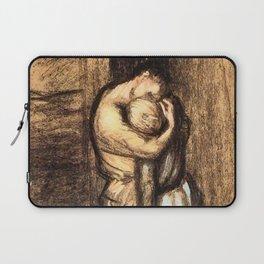 """Théophile Steinlen """"Le baiser"""" Laptop Sleeve"""
