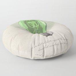 The Green Light Floor Pillow