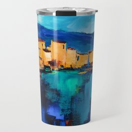 Sunset Over the Village 3 Travel Mug