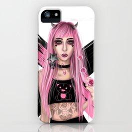 Punk Devil iPhone Case