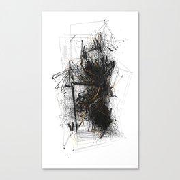 Unwelcome Gaze – Amazon 3 Canvas Print
