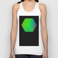 hexagon Tank Tops featuring Hexagon? by FMC!