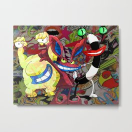 The Realest Monsters Metal Print