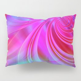 Infinite Loop (blue-magenta) Pillow Sham