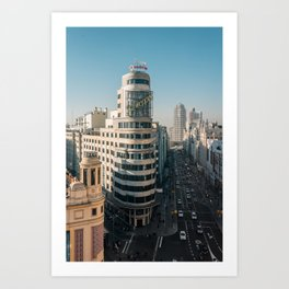 Edificio Carrión 01 Art Print