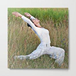 Meditative Summer Dance Metal Print