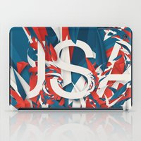 usa iPad Cases featuring USA by Danny Ivan